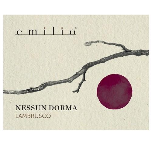 Sparkling Emilio Lambrusco Secco 'Nessun Dorma'