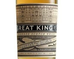 Spirits COMPASS BOX GREAT KING STREET SCOTCH ARTISTS BLEND/GLASGOW 375ml