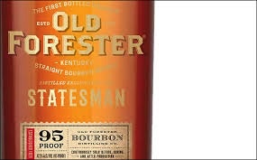 Spirits Old Forester Statesman Bourbon 95 Proof