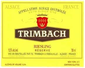 Wine Trimbach Riesling Reserve 2014