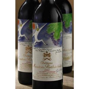 Wine Chateau Mouton Rothschild 1982