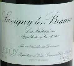 Wine Leroy Savigny Les Beaune Les Narbanton Premier Cru 1978