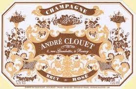 Sparkling Andre Clouet Champagne Brut Rose Grand Cru