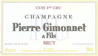 Sparkling Pierre Gimonnet & Fils Champagne Blanc de Blancs 1er Cru