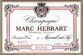 Sparkling Champagne Marc Hebrart Champagne Rose