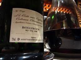 Wine Bollinger Ay Rouge la Cotee aux Enfants Coteaux Champenois 1996