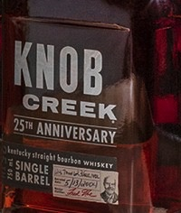 Spirits Knob Creek Bourbon Single Barrel 25th Anniversary