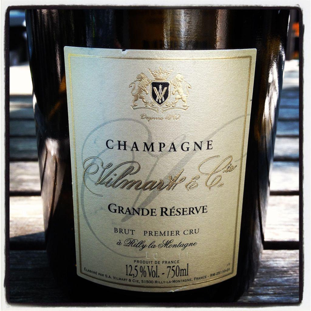 Sparkling Vilmart Champagne Premier Cru Brut Grande Reserve