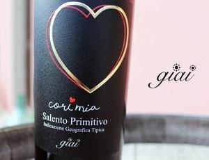 Wine Giai Cori Mia Primitivo Salento 2016