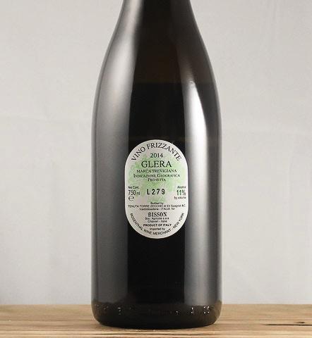 Wine Bisson 'Bianco delle Venezie' Frizzante 2016