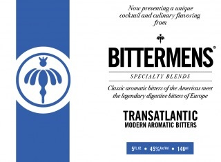Spirits Bittermans Transatlantic Aromatic Bitters 146ml
