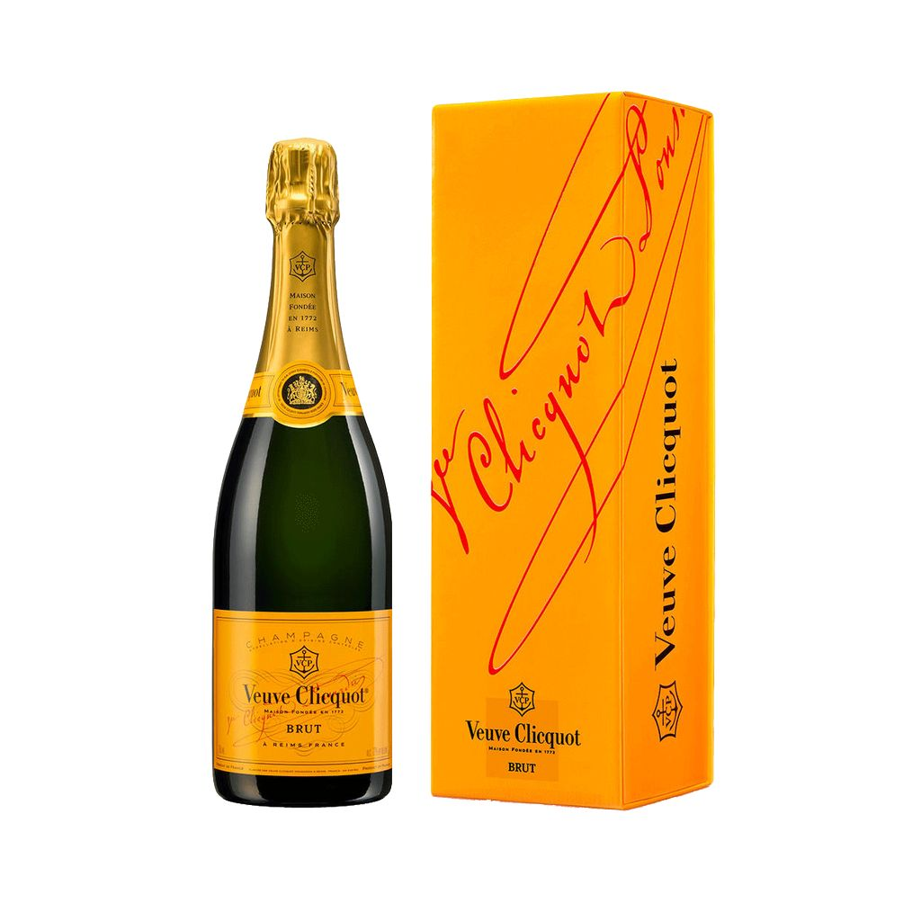 Sparkling Veuve Clicquot Brut Yellow Label Gift