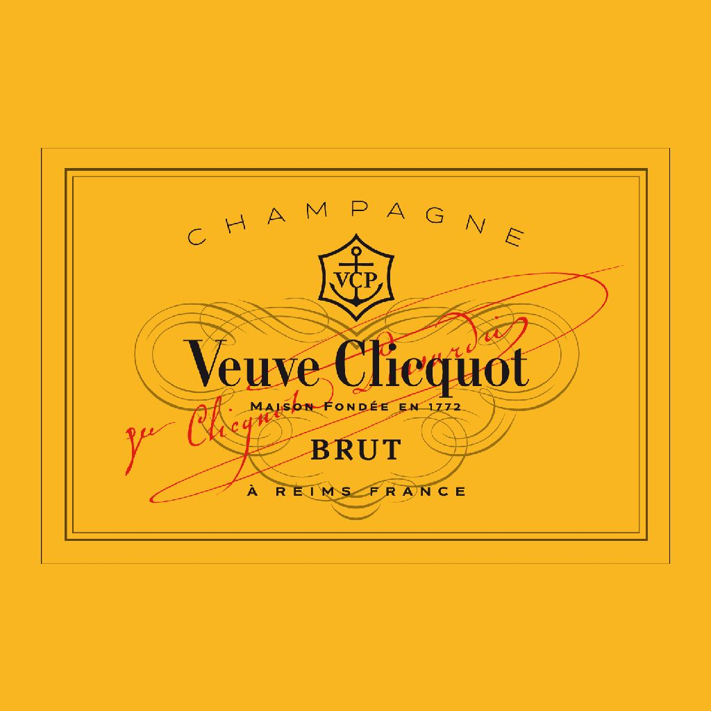 Sparkling Veuve Clicquot Champagne Brut Yellow Label 375ml