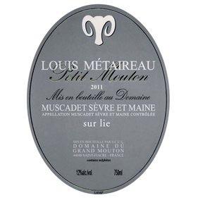 Wine Louis Metaireau Muscadet 'Petit Mouton' 2016
