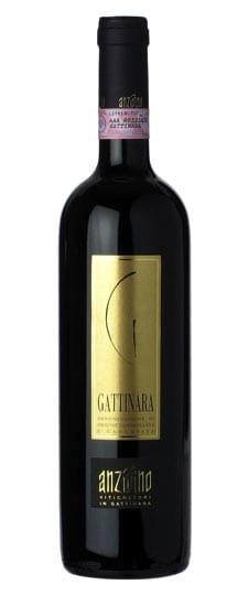 Wine Gattinara DOCG Anzivino Amanuele Piedmonte 2010