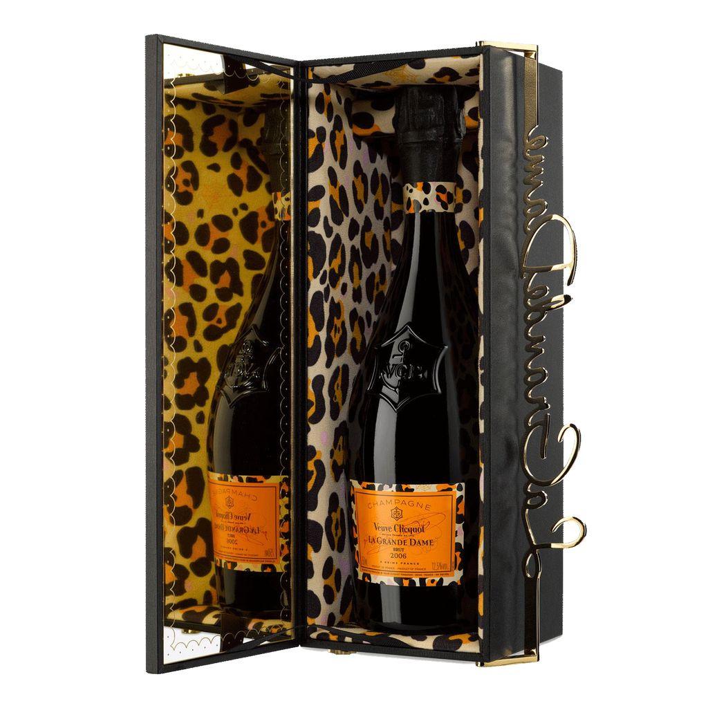 Sparkling Veuve Clicquot Champagne Brut La Grande Dame Charlotte Olympia Limited Edition Gift Box 2006