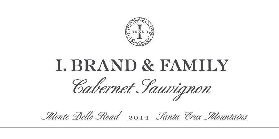Wine I. Brand & Family Cabernet Sauvignon 'Monte Bello' 2014
