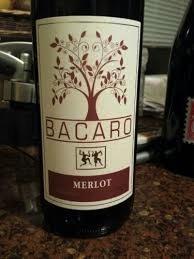 Wine Bacaro Merlot 2015