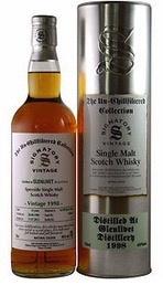 Spirits Unchillfiltered Signatory Glenlivet Single Malt Scotch Whisky Vintage 1998 Sherry Cask