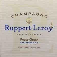 Sparkling Ruppert-Leroy Champagne Fosse-Grely 'Autrement' Brut Nature
