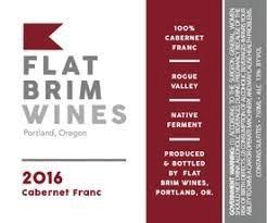 Wine Flat Brim Wines Cabernet Franc 2016