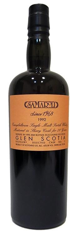 Spirits Samaroli Glen Scotia Selezione Samaroli 1992
