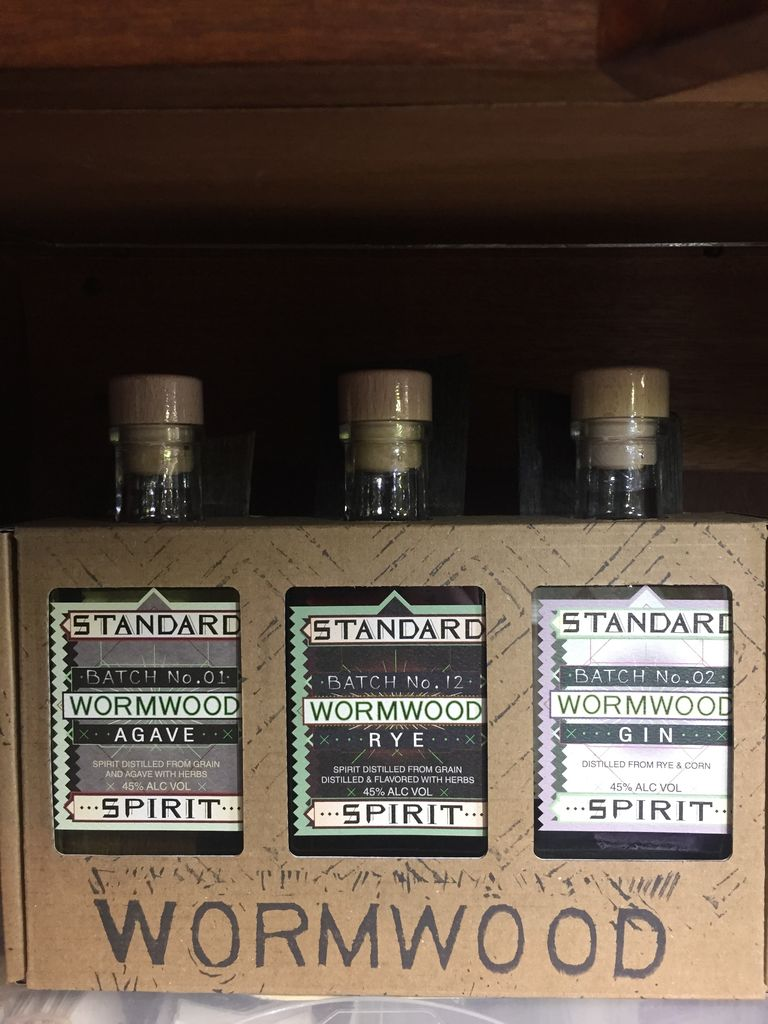 Spirits Standard Distillery Wormwood Gift Pack 200ml x 3