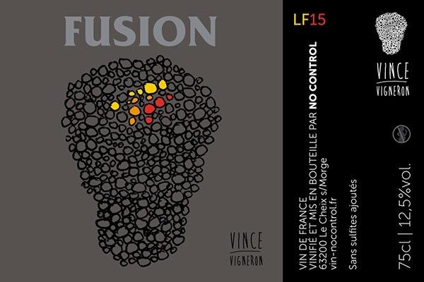 Wine No Control 'Fusion' 2016