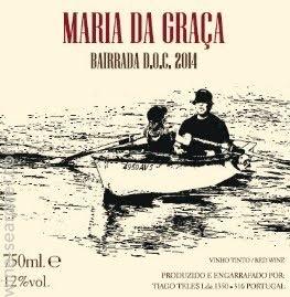 Wine Tiago Teles 'Maria da Graca' Bairrada Red 2015