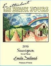 Wine Emile Balland Sauvignon Blanc 'Les Beaux Jours' 2016