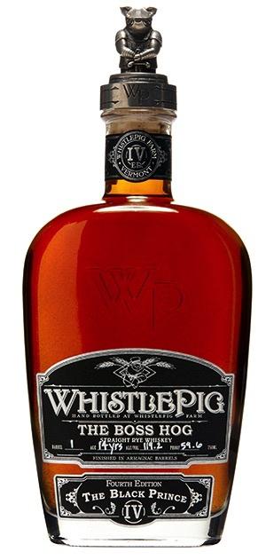 Spirits Whistle Pig Farm Boss Hog 14 YR The Black Prince