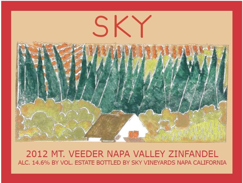 Wine Sky Zinfandel Mount Veeder 2012