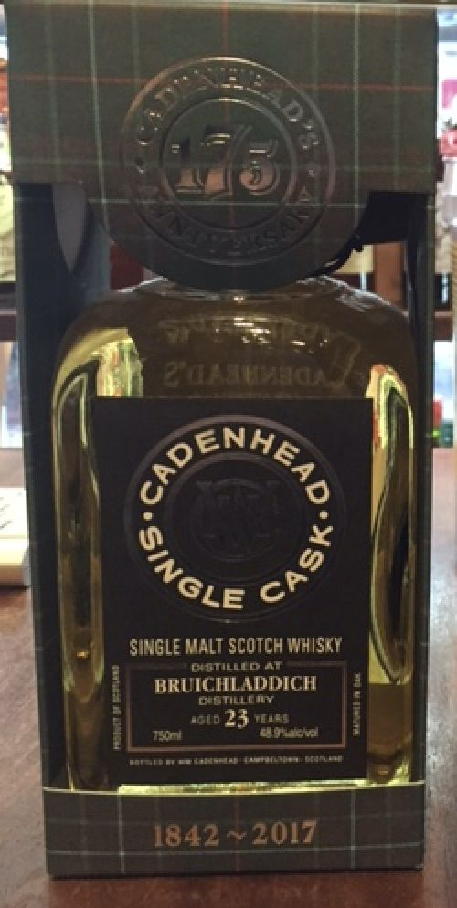 Spirits Cadenhead Bruichladdich 1993 23YR Single Malt Scotch
