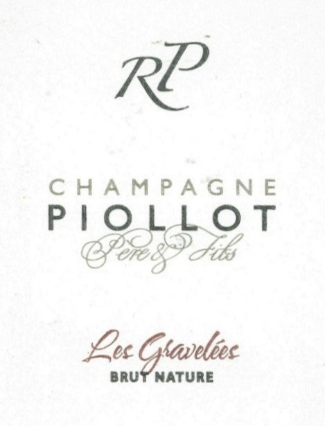 Sparkling Piollot Champagne Rose 'Les Gravelees' 2006