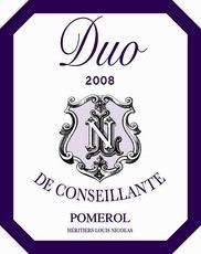 Wine Duo De Conseillante 2013