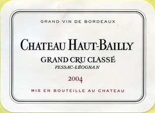 Wine Ch. Haut Bailly 2004