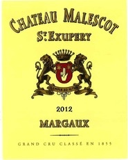 Wine Ch. Malescot Saint Exupery 2012