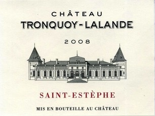 Wine Ch. Tronquoy Lalande 2008