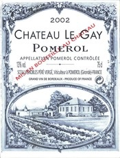 Wine Ch. Le Gay 2002 1.5L