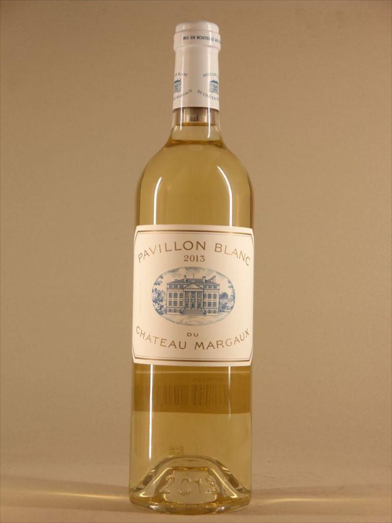 Wine Pavillon Blanc du Chateau Margaux 2013