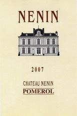 Wine Ch. Nenin Pomerol 2007