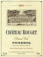 Wine Ch. Rouget Pomerol 2012