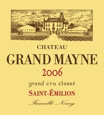 Wine Grand Mayne 2010