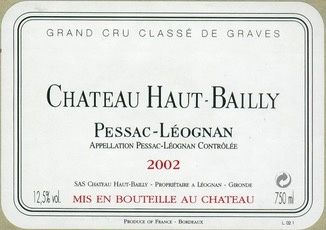 Wine Ch. Haut Bailly 2000