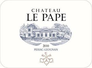 Wine Château Le Pape, Pessac-Léognan 2012