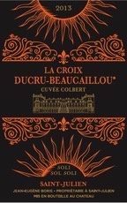 Wine La Croix de Beaucaillou Cuvee Colbert 2013