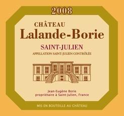 Wine Ch. Lalande Borie 2012