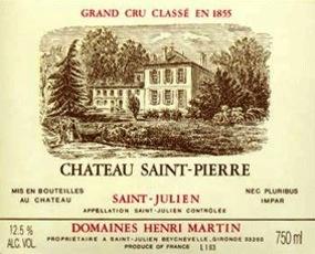 Wine Ch. Saint Pierre 2010