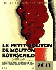 Wine Le Petit Mouton De Mouton Rot. 2009