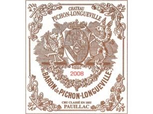 Wine Ch. Pichon Longueville Baron 2002